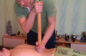 Бамбуковий масаж